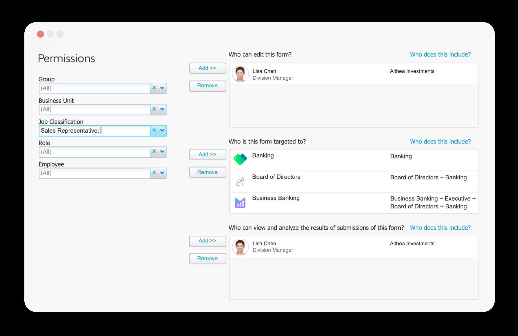 Employee App admin portal