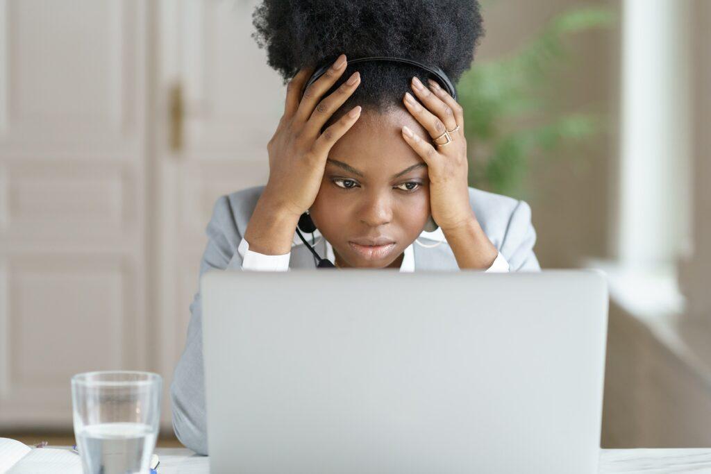 Employee feeling disconnected